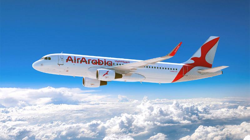 Авиалайнер Airbus A320 лоукостера Air Arabia